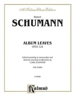 Album Leaves (Albumblätter), Opus 124 (AL-00-K03899)