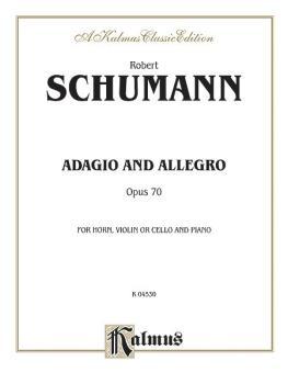 Adagio and Allegro, Op. 70 (AL-00-K04530)