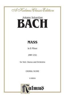 Mass in B Minor (BWV 232) (AL-00-K06004)
