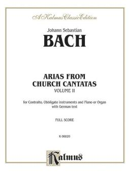 Contralto Arias, Volume II (12 Sacred) (AL-00-K06820)