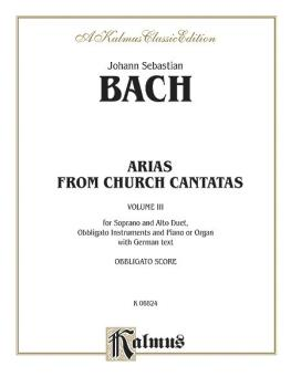 Soprano and Alto Arias, Volume III (4 Duets) (AL-00-K06824)