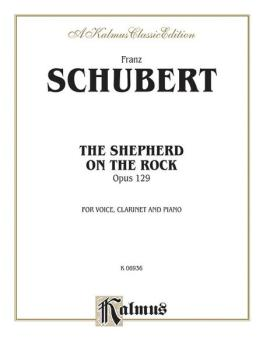 The Shepherd on the Rock (Der Hirt auf dem Felsen) Op. 129 (AL-00-K06936)