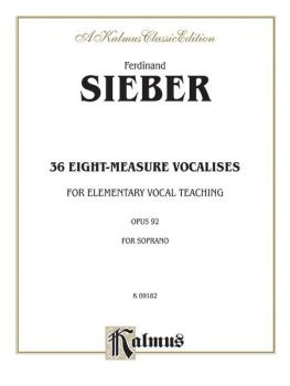 36 Eight-Measure Vocalises for Elementary Teaching (AL-00-K09182)