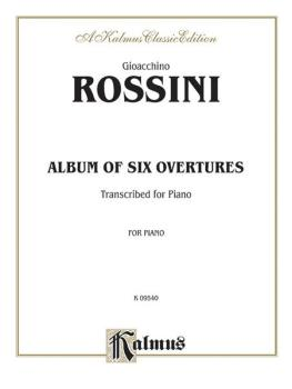 Album of Six Overtures (AL-00-K09540)