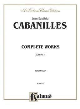Complete Organ Works, Volume II (AL-00-K09777)