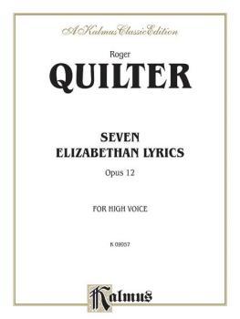 Seven Elizabethan Lyrics, Opus 12 (AL-00-K09957)