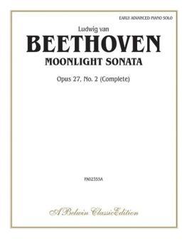 Beethoven: Moonlight Sonata, Opus 27, No. 2 (Complete) (AL-00-PA02355A)