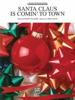Santa Claus Is Comin' to Town (AL-00-T0510SPV)