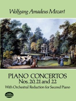 Piano Concertos Nos. 20, 21 and 22 with Orchestral Reduction for Secon (AL-06-284352)