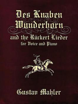 Des Knaben Wunderhorn (AL-06-406342)