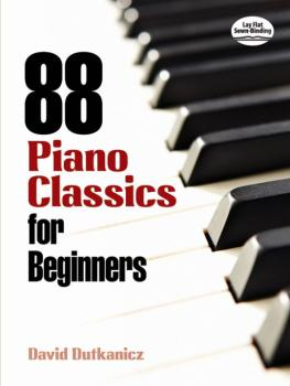 88 Piano Classics for Beginners (AL-06-483886)
