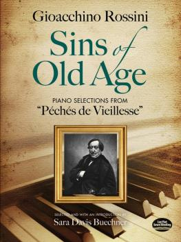 Sins of Old Age: Piano Selections from <i>Peches de Vieillesse</i> (AL-06-497577)