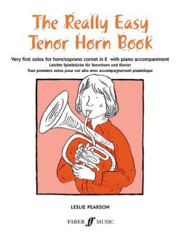 The Really Easy Tenor Horn Book: Very First Solos for Tenor Horn with  (AL-12-0571509975)