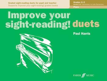 Improve Your Sight-Reading! Piano Duet, Grade 2-3: Graded Sight-Readin (AL-12-0571524060)