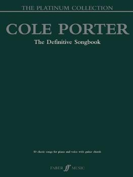 Cole Porter: The Platinum Collection: The Definitive Songbook (AL-12-057152799X)