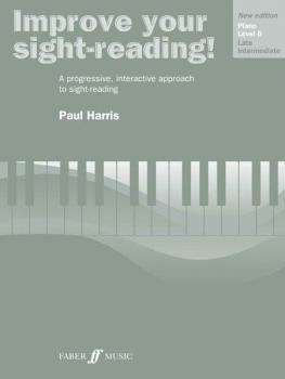 Improve Your Sight-reading! Piano, Level 6 (AL-12-0571533167)