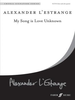 My Song Is Love Unknown (AL-12-0571536492)