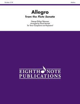 Allegro (from the Flute Sonata) (AL-81-SS1133)