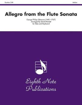 Allegro (from the <I>Flute Sonata</I>) (AL-81-STB2722)