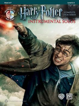 Harry Potter™ Instrumental Solos: Selections from the Complete Film Se (AL-00-39226)
