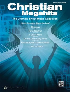 Christian Megahits: The Ultimate Sheet Music Collection (AL-00-39422)