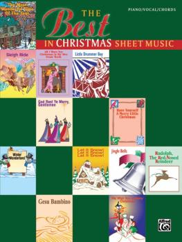 The Best in Christmas Sheet Music (AL-00-MF9728A)