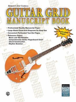 Belwin's 21st Century Guitar Grid Manuscript Book (AL-00-EL9929)