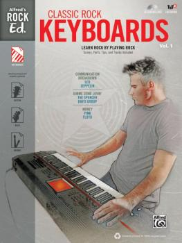 Alfred's Rock Ed.: Classic Rock Keyboards, Vol. 1: Learn Rock by Playi (AL-00-40306)