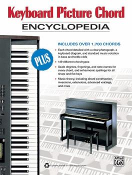 Keyboard Picture Chord Encyclopedia: Includes over 1,700 Chords (AL-00-34345)