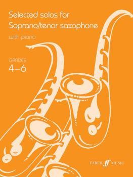 Selected Solos for Soprano/Tenor Saxophone, Grade 4-6 (AL-12-0571521746)