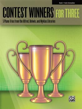 Contest Winners for Three, Book 3: 5 Piano Trios from the Alfred, Belw (AL-00-41981)
