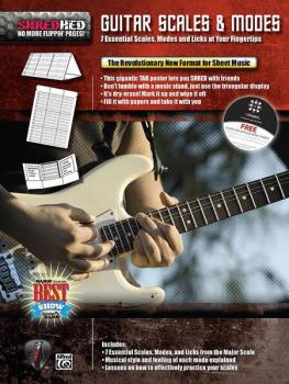 Guitar Scales & Modes: 7 Essential Scales, Modes, and Licks at Your Fi (AL-85-30603)