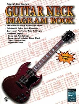 Belwin's 21st Century Guitar Neck Diagram Book (AL-00-EL9925)