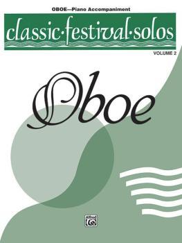 Classic Festival Solos (Oboe), Volume 2 Piano Acc. (AL-00-EL03872)