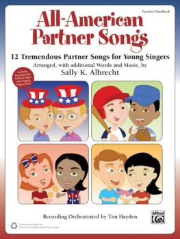 All-American Partner Songs: 12 Tremendous Partner Songs for Young Sing (AL-00-43437)