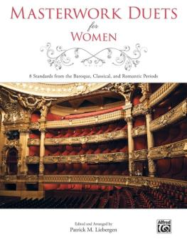 Masterwork Duets for Women: 8 Standards from the Baroque, Classical, a (AL-00-43493)