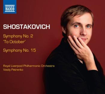"""Symphony No. 2 """"To October"""" and Symphony No. 15 (AL-99-8572708)"""