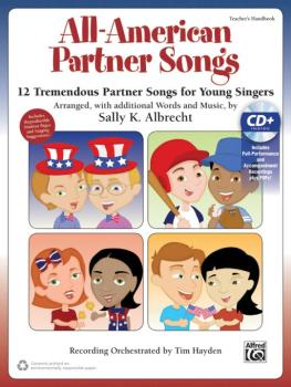 All-American Partner Songs: 12 Tremendous Partner Songs for Young Sing (AL-00-43436)