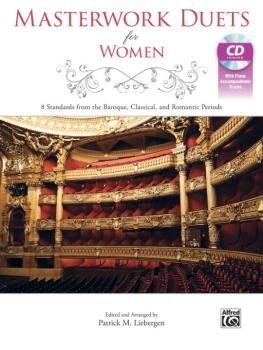 Masterwork Duets for Women: 8 Standards from the Baroque, Classical, a (AL-00-43492)