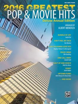 2016 Greatest Pop & Movie Hits: Deluxe Annual Edition (AL-00-45264)