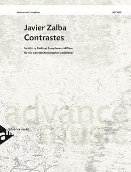 Contrastes (For Alto or Baritone Saxophone and Piano) (AL-01-ADV7079)