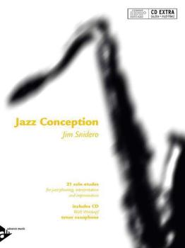 Jazz Conception: Tenor Saxophone: 21 Solo Etudes for Jazz Phrasing, In (AL-01-ADV14721)