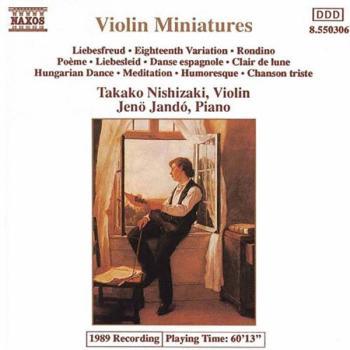 Violin Miniatures (AL-99-8550306)