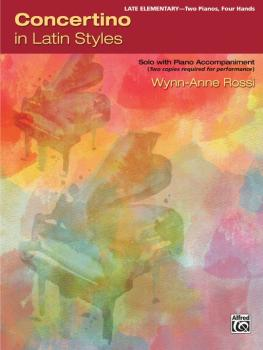 Concertino in Latin Styles: Solo with Piano Accompaniment (AL-00-46084)