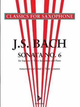 Sonata No. 6 A Major BWV 1035 (For Soprano or Tenor Saxophone and Pian (AL-01-ADV7043)