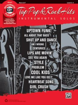 Top Pop & Rock Hits Instrumental Solos (AL-00-45110)