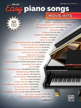 Alfred's Easy Piano Songs: Movie Hits (50 Songs and Themes) (AL-00-45157)