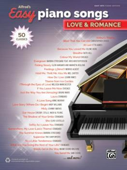 Alfred's Easy Piano Songs: Love & Romance (50 Classics) (AL-00-45244)