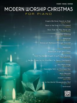 Modern Worship Christmas for Piano (AL-00-44743)