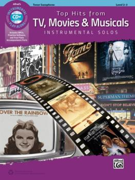 Top Hits from TV, Movies & Musicals Instrumental Solos (AL-00-45174)
